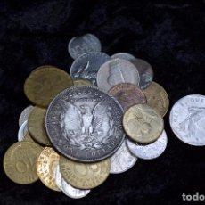 Monedas de España: BONITO Y INTERESANTE LOTE DE MONEDAS MUNDIALES. Lote 114444443