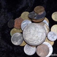 Monedas de España: BONITO Y INTERESANTE LOTE DE MONEDAS MUNDIALES. Lote 96183347