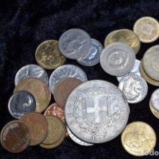 Monedas de España: BONITO Y INTERESANTE LOTE DE MONEDAS MUNDIALES. Lote 134876913