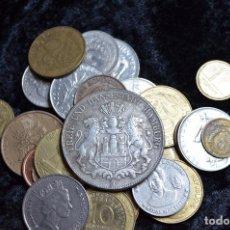 Monedas de España: BONITO Y INTERESANTE LOTE DE MONEDAS MUNDIALES. Lote 134876915