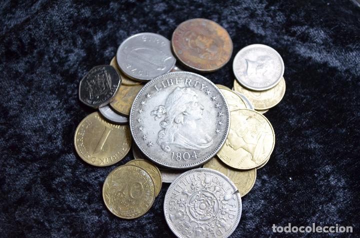 BONITO Y INTERESANTE LOTE DE MONEDAS MUNDIALES (Numismática - España Modernas y Contemporáneas - Colecciones y Lotes de conjunto)
