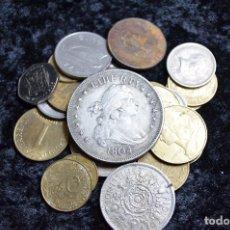 Monedas de España: BONITO Y INTERESANTE LOTE DE MONEDAS MUNDIALES. Lote 96183415