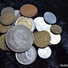 Monedas de España: BONITO Y INTERESANTE LOTE DE MONEDAS MUNDIALES. Lote 96183427