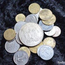 Monedas de España: BONITO Y INTERESANTE LOTE DE MONEDAS MUNDIALES. Lote 96183455