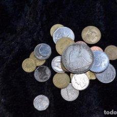 Monedas de España: BONITO Y INTERESANTE LOTE DE MONEDAS MUNDIALES. Lote 96183471
