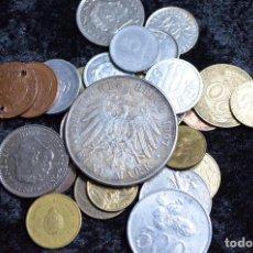 Monedas de España: BONITO Y INTERESANTE LOTE DE MONEDAS MUNDIALES. Lote 96183487