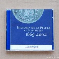 Coins of Spain - COLECCION VEINTE MONEDAS HISTORIA DE LA PESETA EN PLATA LEY 1869 - 2002. - 96187919