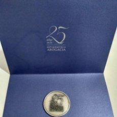Monedas de España: MONEDA CONMEMORATIVA 25 AÑOS MUTUALIDAD DE LA ABOGACIA. Lote 97212475