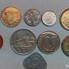 Monedas de España: 10 MONEDAS DE VARIOS PAÍSES. Lote 99320623