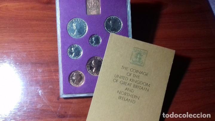 Monedas de España: Pre-decimal coinage of GB and NI proof set 1970 - Foto 10 - 99380955