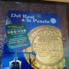 Monedas de España: COLECCION DE 40 MONEDAS DEL REAL A LA PESETA. Lote 100118791