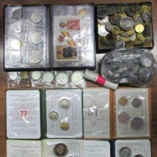 Monedas de España: CONJUNTO DE MONEDAS ANTIGUAS DE ESPAÑA, CARTERAS Y CARTUCHO DE F.N.M.T, ETC. LOTE 0676. Lote 100906855
