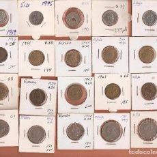 Monedas de España: LOTE DE 20 MONEDAS DEL ESTADO ESPAÑOL ESTRELLAS LEGIBLES LAS DE LAS FOTOS VER TODAS MIS MONEDAS. Lote 100927411