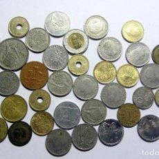 Monedas de España: LOTE DE MONEDAS ESPAÑA ISLANDIA FRANCIA ITALIA . Lote 101022679