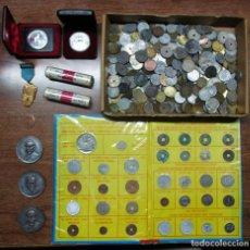Monedas de España: CONJUNTO DE MONEDAS ESPAÑOLAS Y EXTRANJERAS, MEDALLAS, CARTUCHOS DE F.N.M.T., ETC...LOTE 0728. Lote 103667367