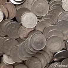 Monedas de España: LOTE 217 MONEDAS DE 5 PESETAS 1957 ESTADO ESPAÑOL.- ESTRELLAS VISIBLES - MUY BUEN ESTADO. 1,250 GRAM. Lote 103687059