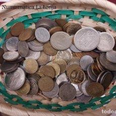 Monedas de España: ESPAÑA LOTE 5 KILOS DE MONEDAS VARIADAS REPÚBLICA - FRANCO - JUAN CARLOS I. Lote 143259490
