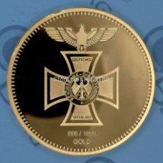 Monedas de España: MONEDA BAÑADA EN ORO REICHSBANK 1872. Lote 133507841