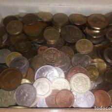 Monedas de España: LOTE DE 1,4 KILOS DE MONEDAS - TODO EL MUNDO VARIAS EPOCAS ( PUEDE CONTENER PLATA ) ENVIO GRATIS. Lote 105897559