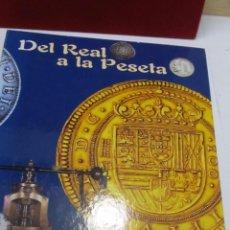 Monedas de España: DEL REAL A LA PESETA (I) - COLECCIÓN DE 40 MONEDAS HISTÓRICAS (RÉPLICAS). Lote 105906611