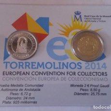 Monedas de España: CONVENCION EUROPEA COLECCIONISMO TORREMOLINOS 2014. Lote 108085407