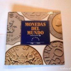 Monedas de España: CARPETA ARCHIVADOR MONEDAS DEL MUNDO ´ORBIS FABBRI - NUEVA. Lote 108874155