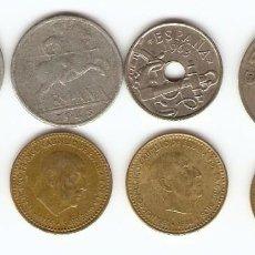 Monedas de España: A46 - DIVERSAS MONEDAS ESPAÑOLAS VARIAS EMISIONES. Lote 109060519