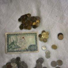Monedas de España: ESTADO ESPAÑOL Y JUAN CARLOS, LOTE DE MONEDAS DESDE 1947 HASTA 1990. Lote 109260951