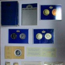 Monedas de España: SET XXV ANIVERSARIO DE LA BOSA DE S.S.M.M. LOS REYES DE ESPAÑA, 1 ECU 1989, CARTUCHOS, ETC LOTE 0824. Lote 109533611
