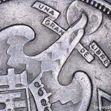 Monedas de España: ESTADO ESPAÑOL 25 PESETAS 1957*64 - 8,83 GRAMOS VARIOS ERRORES, DOBLE LISTEL. MARCACIÓN INCUSA. Lote 110968439