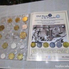 Monedas de España: COLECCIÓN DE MONEDAS - DEL REAL A LA PESETA -. Lote 111577947