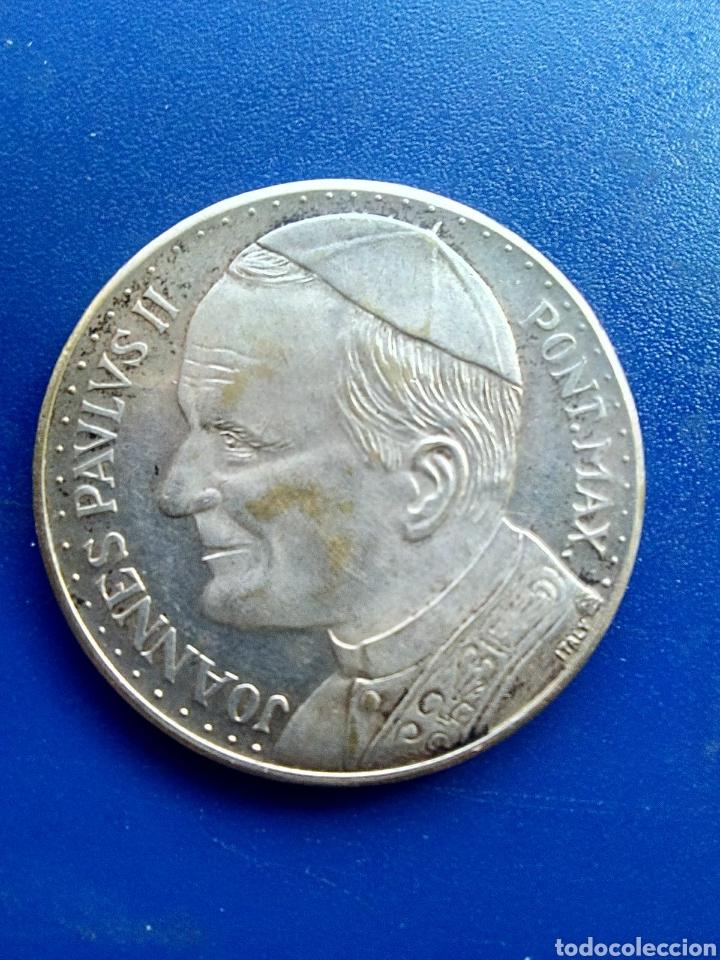MONEDA MEDALLA DE JUAN PABLO II. (Numismática - España Modernas y Contemporáneas - Colecciones y Lotes de conjunto)