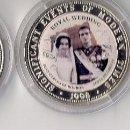 Monedas de España: BODAS REALES. SOMALIA. MONEDAS DE 250 CHELINES 1998 EN NÍQUEL PLATEADO. Lote 113842035