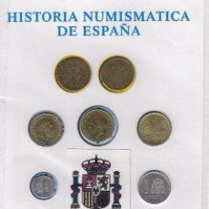 Monedas de España: HISTORIA DE LA PESETA, COLECCIÓN DE 7 MONEDAS QUE CIRCULARON EN ESPAÑA. Lote 114236935