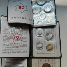 Coins of Spain - Lotes carteritas 77 79 y del Mundial 82 estrella 80 - 114890360