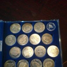 Monedas de España: COLECCIÓN DE MONEDAS EN PLATA, HISTORIA DE LA PESETA. Lote 158414086