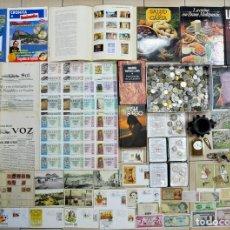 Monedas de España: CAJA CON MONEDAS, BILLETES, POSTALES, LIBROS, REVISTAS, MORTERO, CROMOS ANTIGUOS..... ETC.LOTE 0074. Lote 115012259