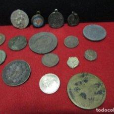 Monedas de España: LOTE DE MONEDAS MEDALLAS Y MARCHAMOS LEAN DESCRIPCION. Lote 115237795
