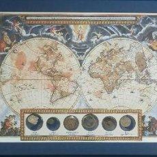 Monedas de España: SEIS MONEDAS DE CIVILIZACIONES DESAPARECIDAS,KARSAPANA DE PLATA,LEPTONDE BRONCE,DIRHAMAS,ETC. Lote 116350855