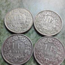 Coins of Spain - Lote monedas de plata de Suiza - 116918795