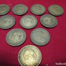 Monedas de España: 10 MONEDAS ESPAÑOLAS DE 2,50 PESETAS 1953 . Lote 117647687