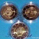 Monedas de España: JUEGO COMPLETO ESPAÑA 2 EUROS AÑO 2018-3 PIEZAS DIFERENTE:*SANTIAGO+*50 ANV*.+*FELIPE VI*-EN CAPSULA. Lote 145633460