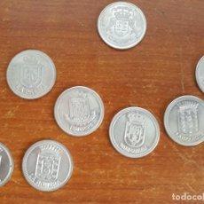 Monedas de España: 8 MONEDAS DE LAS ISLAS CANARIAS. Lote 117928703