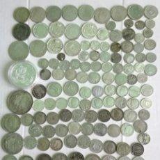 Coins of Spain - LOTE MONEDAS DE PLATA ANTIGUAS 532 gr. SILVER 1/2 Kg GRAN INVERSIÓN. LOTE 1 - 119084735