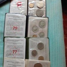 Coins of Spain - Carteritas España Juan Carlos estrella 76 77 79 80 - 119457988