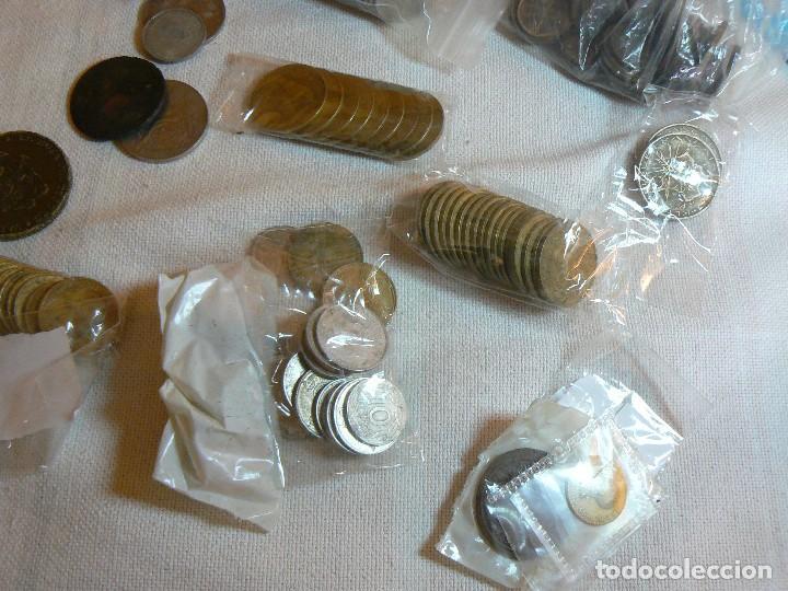 Monedas de España: gran lote de monedas 1430 GRAMOS NACIONALES E INTERNACIONALES coleccion GASTOS D ENVIO GRATIS LOTAZO - Foto 2 - 119900039
