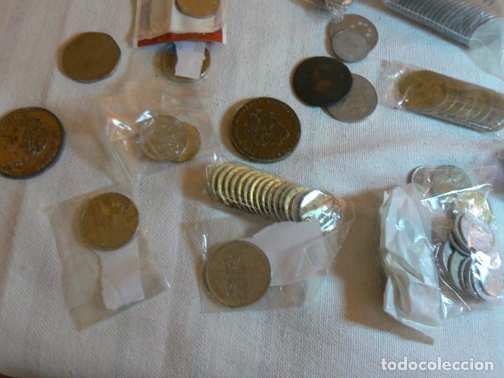 Monedas de España: gran lote de monedas 1430 GRAMOS NACIONALES E INTERNACIONALES coleccion GASTOS D ENVIO GRATIS LOTAZO - Foto 3 - 119900039