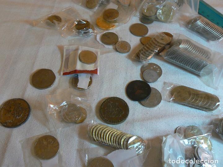Monedas de España: gran lote de monedas 1430 GRAMOS NACIONALES E INTERNACIONALES coleccion GASTOS D ENVIO GRATIS LOTAZO - Foto 4 - 119900039