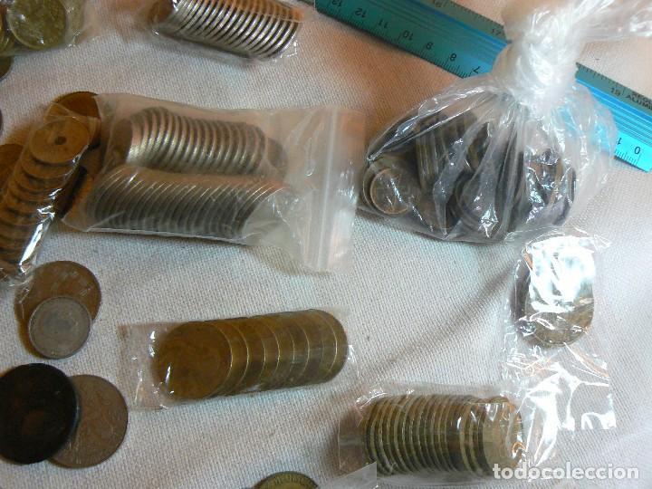 Monedas de España: gran lote de monedas 1430 GRAMOS NACIONALES E INTERNACIONALES coleccion GASTOS D ENVIO GRATIS LOTAZO - Foto 5 - 119900039
