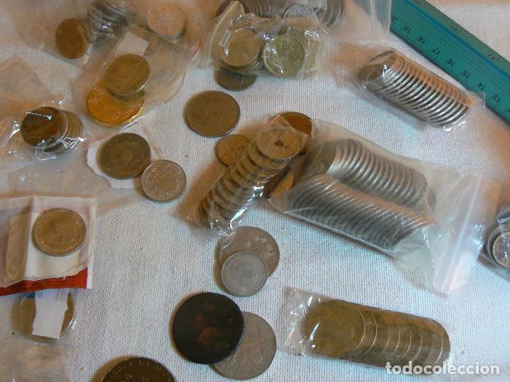 Monedas de España: gran lote de monedas 1430 GRAMOS NACIONALES E INTERNACIONALES coleccion GASTOS D ENVIO GRATIS LOTAZO - Foto 6 - 119900039